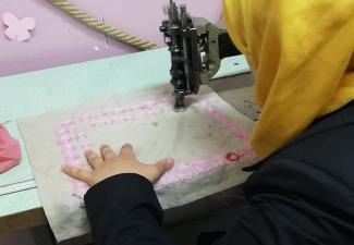 Vocational Training  Sewing and Brocade course