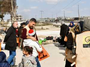 An Evaluation Visit to the Humanitarian Crossings in Maarat al-Numan - Rural Idlib