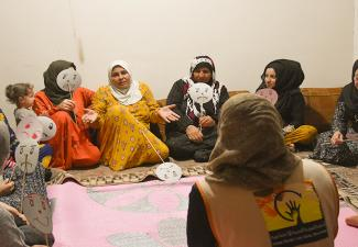 Psychosocial Support for IDPs from Ras al-Ain--Qamishli